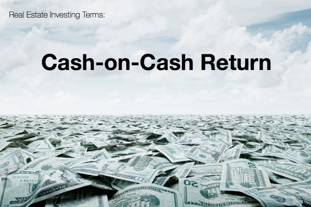 real estate investing cash on cash return